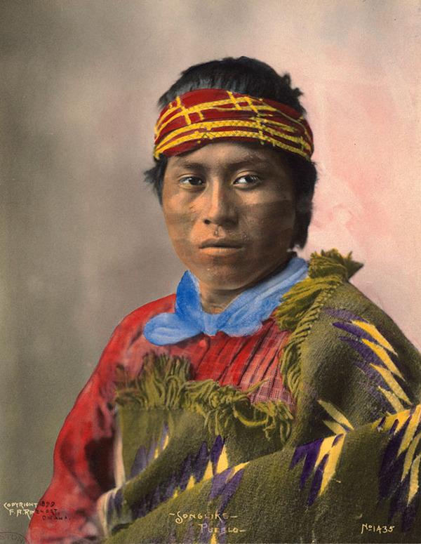 インディアン(ネイティブ・アメリカン)の貴重なカラー化写真 (24)