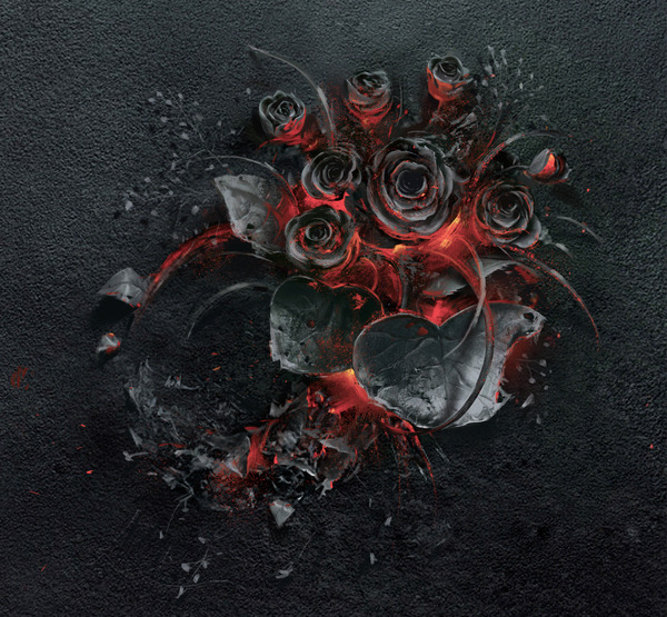 燻り燃える美しい薔薇 (4)