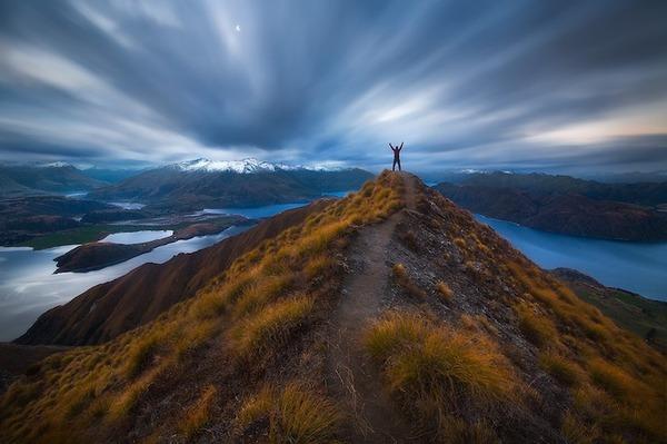 旅に出たくなる!美しい大自然と人間が一緒の写真 (10)