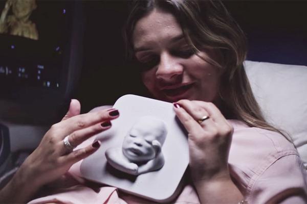 盲目の妊婦と赤ちゃんの感動物語 3dプリンタ 2