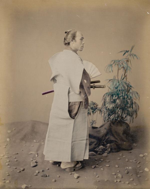 ラストサムライ…!19世紀、明治時代の侍の貴重な写真 (16)