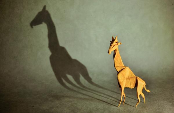 一枚の紙から折り紙で作る動物!折り紙アート (19)
