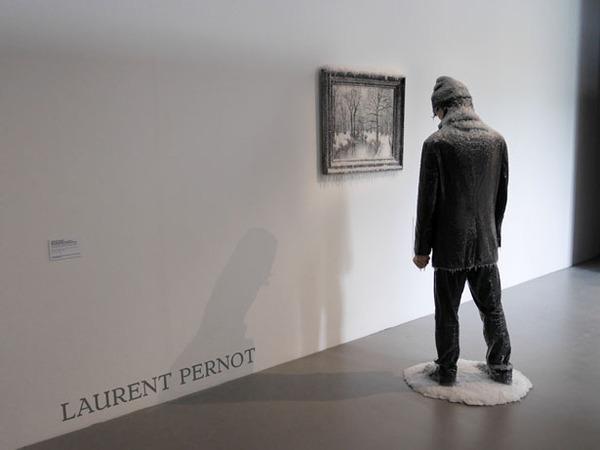 凍えるような寒さが伝わってくる!等身大レプリカと絵画の展示 (6)