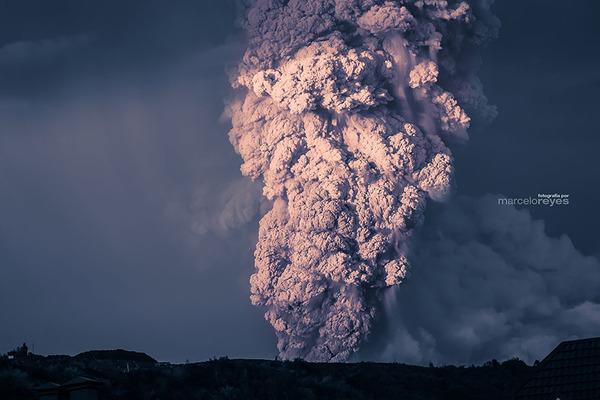 チリのカルブコ火山噴火 2015年 15