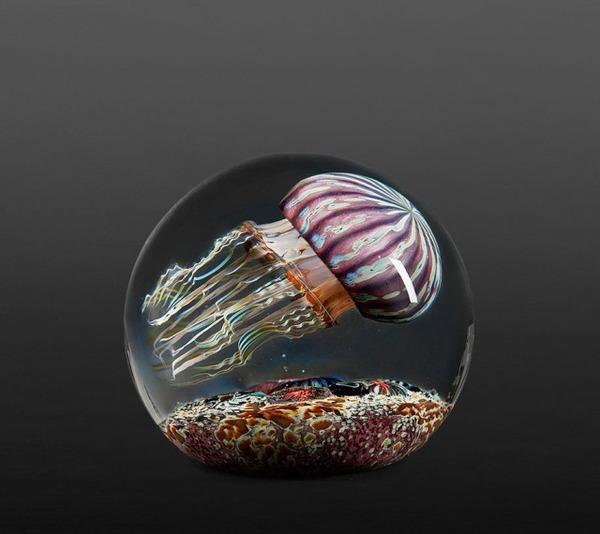 クラゲのガラスアート Richard Satava 15