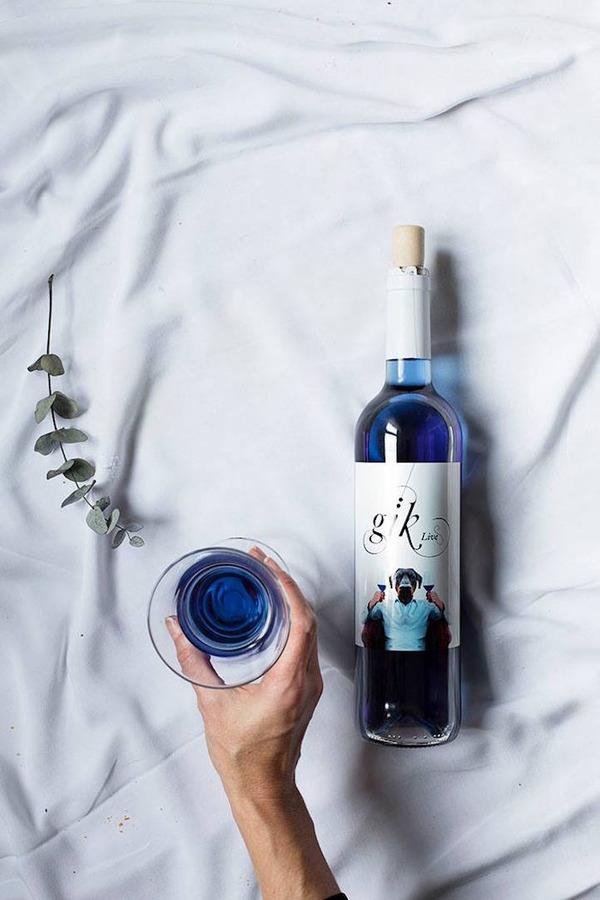 超爽やか!革新的な青いワイン『Gik』 (5)