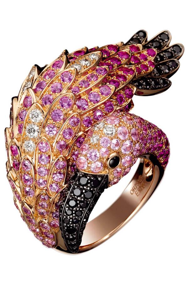 フラミンゴの指輪
