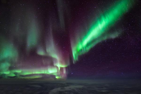 コックピットから撮影された壮大な空の写真 (5)