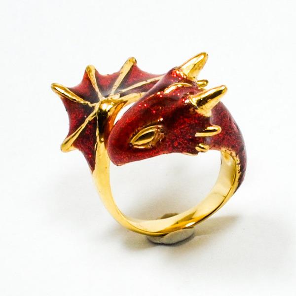 かっこかわいい。竜をモチーフにした指輪『ドラゴンリング』 (7)