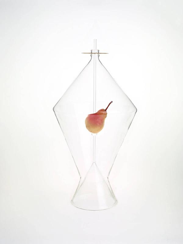 フルーツを飾るためのガラスのユニークデザイン (2)