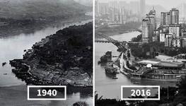 発展した中国の都市風景を比較!過去と現在の画像およそ100年