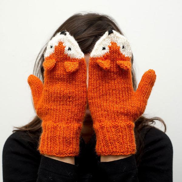 キツネの手袋