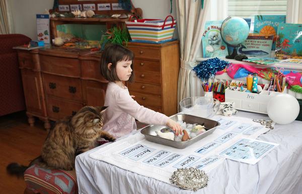 自閉症の6歳の少女が描く絵画が美しい! Iris Grace  (13)