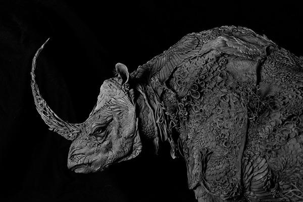 動物と植物が融合した幻想的な彫刻!Ellen Jewettの新作紹介 (7)