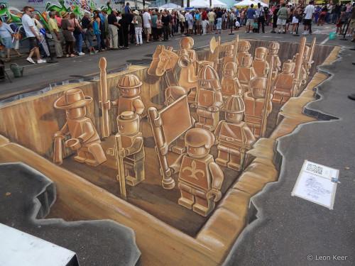 3D Lego terracotta army (1)