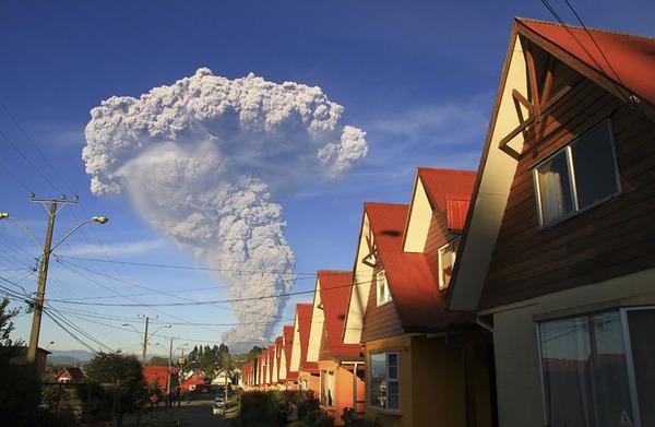 チリのカルブコ火山噴火 2015年 14