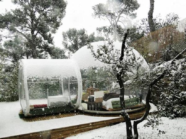 ホイポイカプセルみたいな即席テントで一泊!『Bubble Tent』 (5)