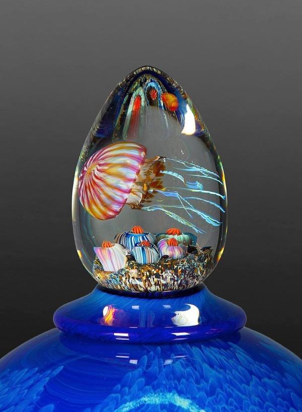 クラゲのガラスアート Richard Satava 6