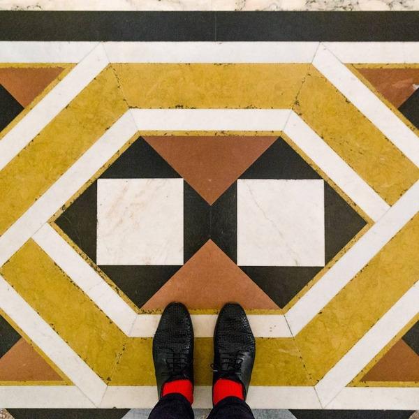 色んな床いっぱい。イタリア、ヴェネツィアの床のデザイン (14)
