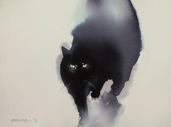 猫のアート