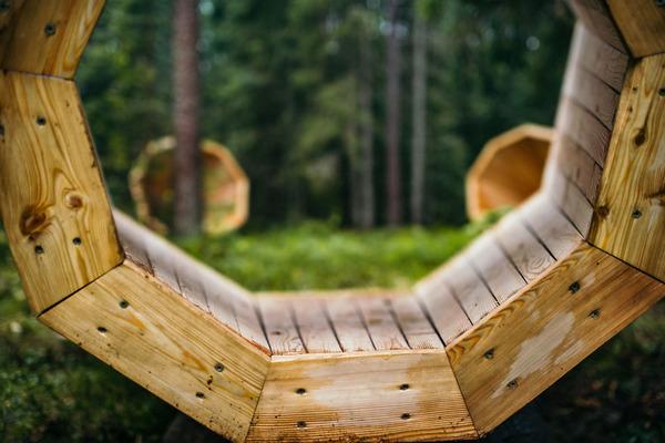 癒し効果がきっと一杯!森の音を聴く超大きなメガホン (5)