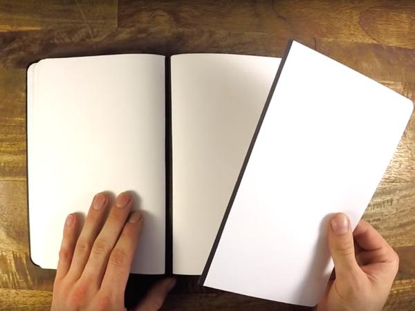 『Rekonect Notebook』ページをシャッフル!マグネット式ノート (1)