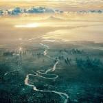 雲の上!飛行機から撮影された世界各国の美しい風景写真