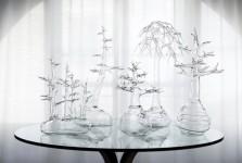本場ヴェネツィアのガラス職人が製作したガラスのアート作品