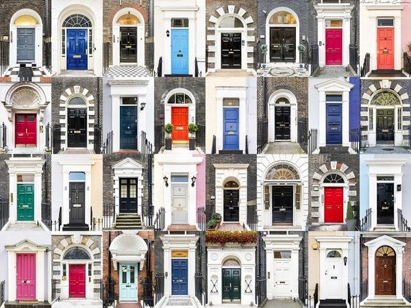 イングランドの玄関ドア