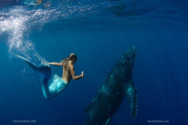 人魚のようなハンナ・フレイザー(Hannah Fraser) 6