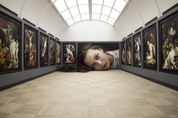 ミニチュア美術館を観に来たらアートの一部になっちゃった人達 (12)