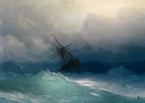 素晴らしい波を描く19世紀の海洋画家。海の迫力が伝わる風景画!