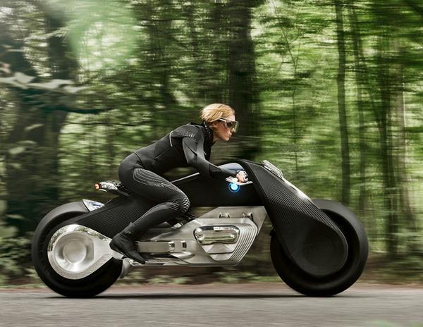 完全にSF!BMWのコンセプトバイク「VISION NEXT 100」 (10)
