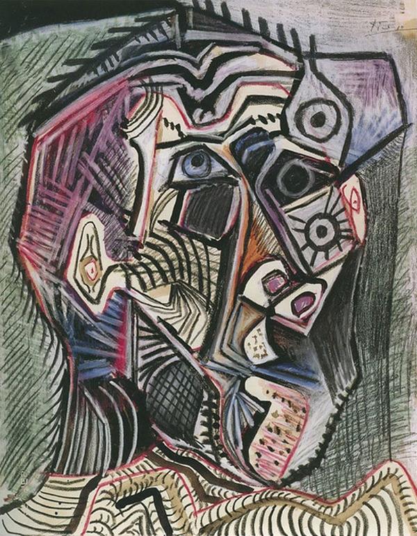 ピカソの自画像!15歳から90歳までの肖像画 (3)