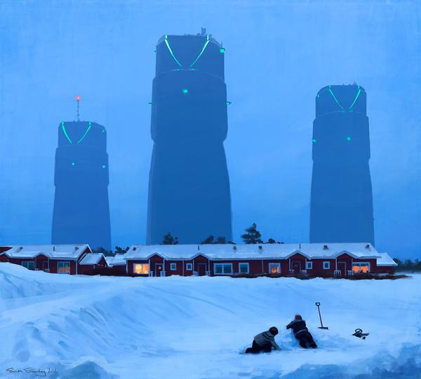 Sci-fi イラスト Simon Stålenhag 5