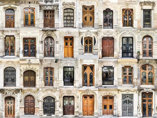 スペインの玄関ドア