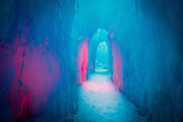 Ice Castles in UtahIce Castles in Utah