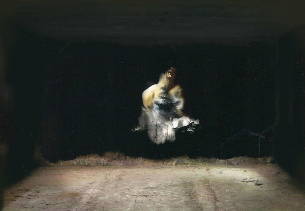 廃墟の壁に描かれたルネサンス風絵画 (3)