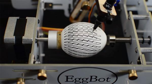 回転するとアニメーションになる卵の動画【イースター・エッグ】 (1)