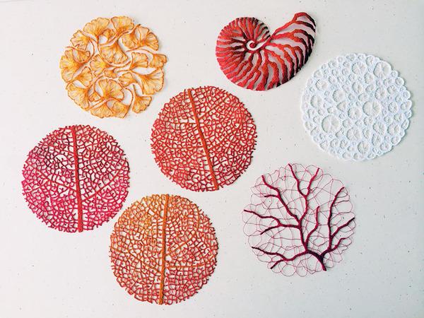 ミシンで作る!葉脈や珊瑚をモチーフにした透かし彫りの刺繍 (13)