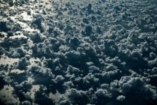 文字通りの雲海!カリブ海上に広がる雲を撮影した航空写真
