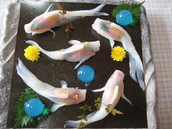 コイ寿司!自宅でも簡単に作れる鯉の形をしたお寿司 (8)