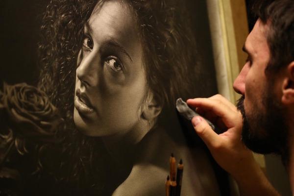 やっぱり凄い。鉛筆で描くハイパーリアリスティックな絵画 (2)