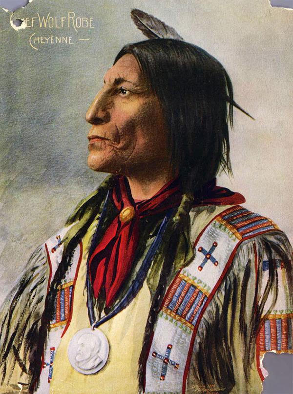 インディアン(ネイティブ・アメリカン)の貴重なカラー化写真 (32)