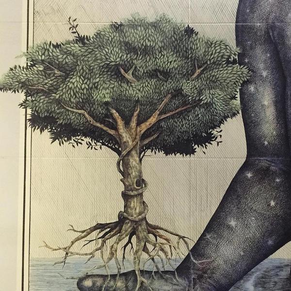 スピリチュアル…。生と死を描いた壁画アート (3)