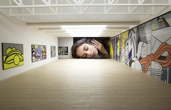 ミニチュア美術館を観に来たらアートの一部になっちゃった人達 (6)