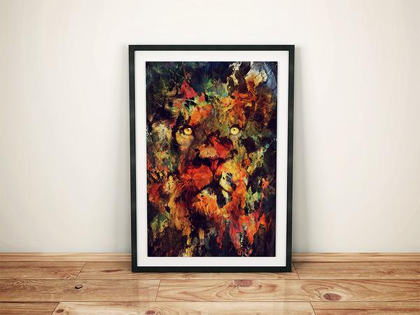 二重露光スタイルによる水彩画の中の野生動物 (3)