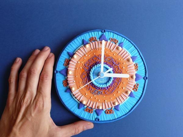 デコケーキっぽい壁掛け時計 (8)