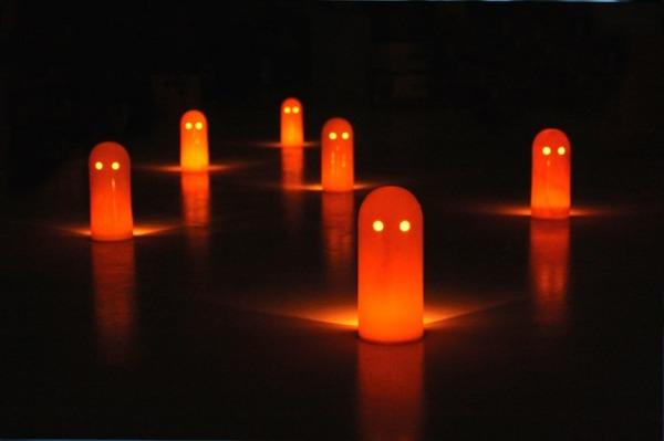 幽霊型キャンドルホルダー ゴーストライト 6