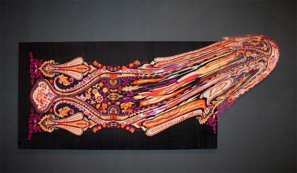 歪む、溶ける、飛び出す!不思議な形をした絨毯 (9)
